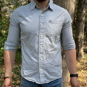 Abercrombie and Fitch Plaid shirt (muscle fit)